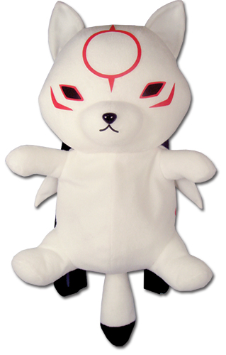 Okami Den - Chibiterasu Plush Bag, an officially licensed product in our Okamiden Bags department.