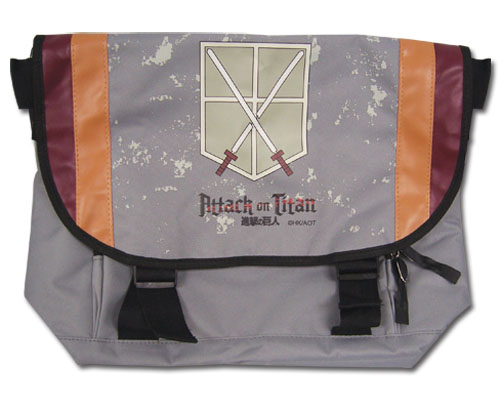 Attack On Titan - Cadet Corps Messenger Bag, an officially licensed product in our Attack On Titan Bags department.