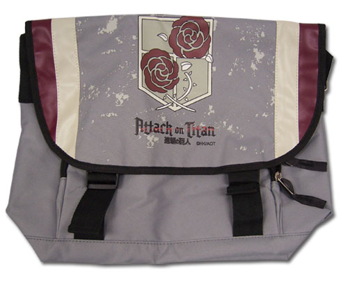 Attack On Titan - Garrison Regiment Messenger Bag, an officially licensed product in our Attack On Titan Bags department.