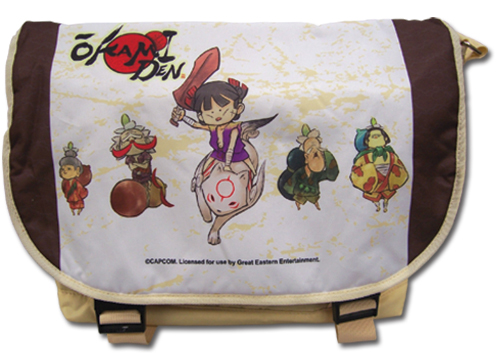 Okami Den - Group Messenger Bag, an officially licensed product in our Okamiden Bags department.