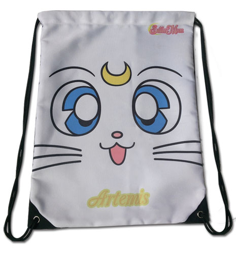 Sailor Moon - Sailor Moon S Artemis Drawstring Bag, an officially licensed product in our Sailor Moon Bags department.