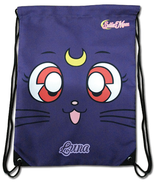 Sailor Moon - Sailor Moon S Luna Drawtsring Bag, an officially licensed Sailor Moon Bag