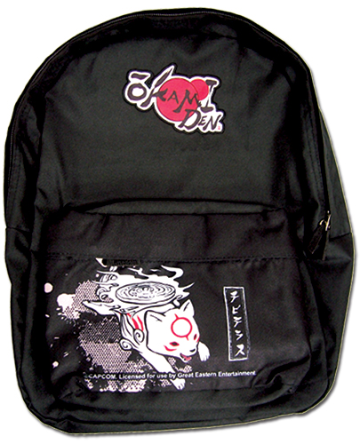 Okami Den - Chibiterasu Backpack Bag, an officially licensed Okamiden product at B.A. Toys.