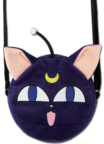 Sailor Moon - Luna P Plush Bag, an officially licensed product in our Sailor Moon Bags department.