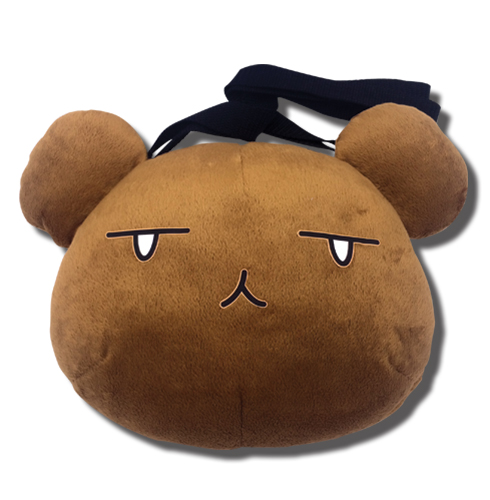 Ouran H.S. Host Club - Bear Head Plush Bag, an officially licensed Ouran High School Host Club product at B.A. Toys.