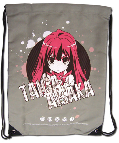 Toradora - Taiga Drawstring Bag, an officially licensed product in our Toradora Bags department.