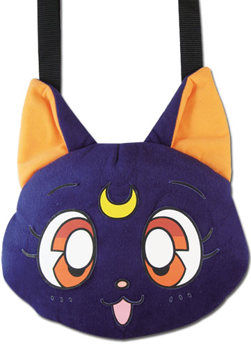 Sailor Moon - Luna Plush Bag, an officially licensed product in our Sailor Moon Bags department.