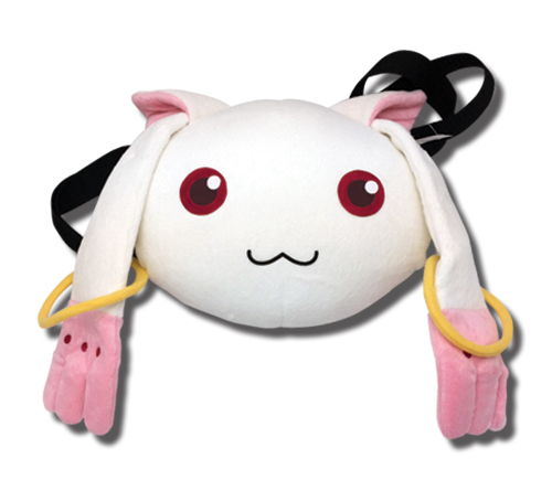Madoka Magica - Kyubey Hand Warming Plush Bag, an officially licensed product in our Madoka Magica Bags department.