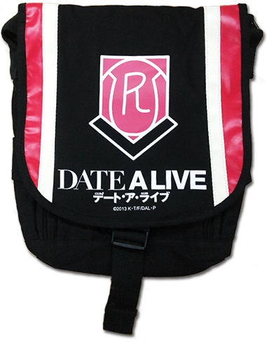Date A Live - School Logo Messenger Bag officially licensed Date A Live Bags product at B.A. Toys.