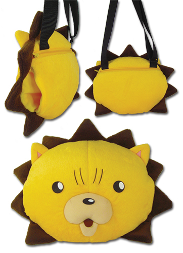 Bleach - Kon Head Plush Bag officially licensed Bleach Bags product at B.A. Toys.