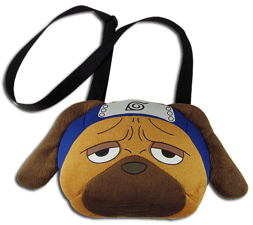 Naruto Shippuden - Pakkun Plush Bag, an officially licensed product in our Naruto Shippuden Bags department.