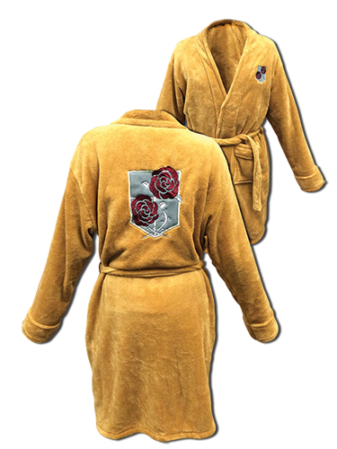 Attack On Titan - Stationary Legion Bath Robe, an officially licensed Attack On Titan product at B.A. Toys.