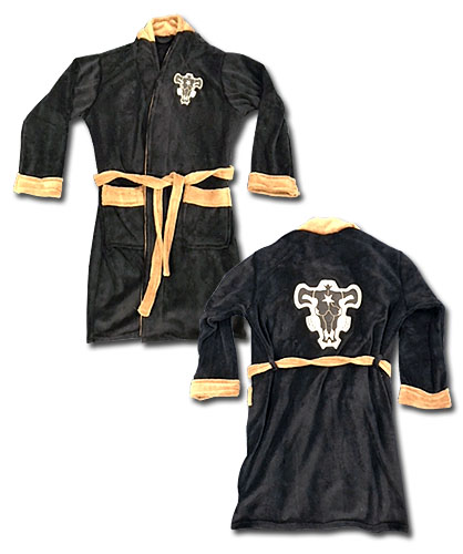 Black Clover - Black Bull Bath Robe, an officially licensed Black Clover product at B.A. Toys.