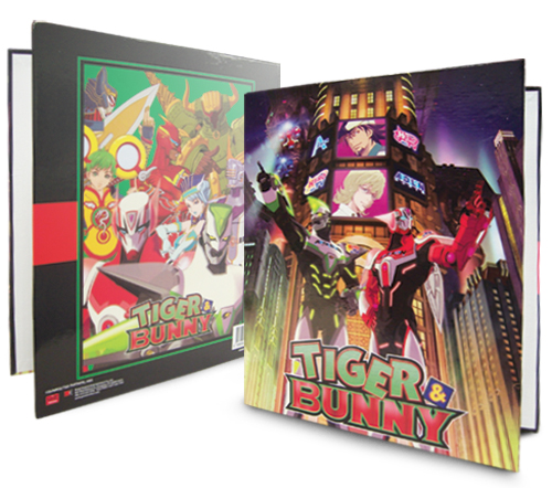 Tiger & Bunny Keyart Binder officially licensed product at B.A. Toys.