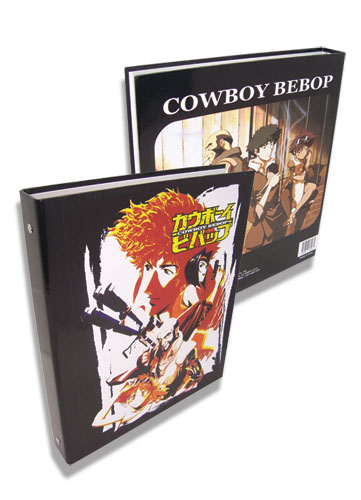 Cowboy Bebop Spike And Group Binder, an officially licensed product in our Cowboy Bebop Binders & Folders department.