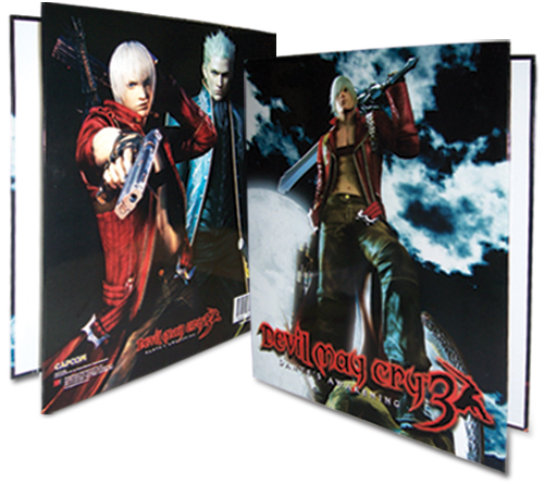 Devil May Cry Keyart Binder, an officially licensed Devil May Cry Binder/ Folder