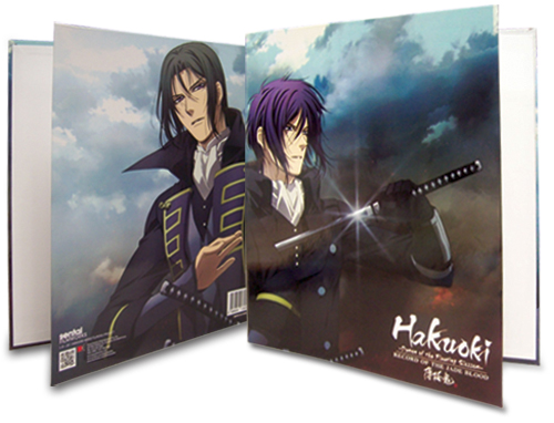 Hakuoki Season 2 Hijikata & Saito Binder, an officially licensed Hakuoki Binder/ Folder