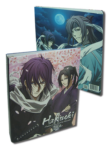 Hakuoki Season 1 Toshizuo & Hijime Binder, an officially licensed Hakuoki Binder/ Folder