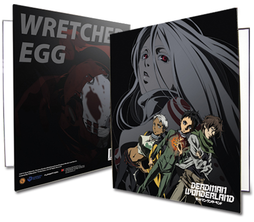 Deadman Wonderland Group Binder, an officially licensed Deadman Wonderland Binder/ Folder