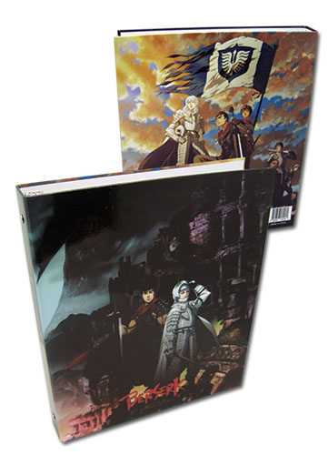 Berserk Key Visual Binder officially licensed Berserk Binders & Folders product at B.A. Toys.