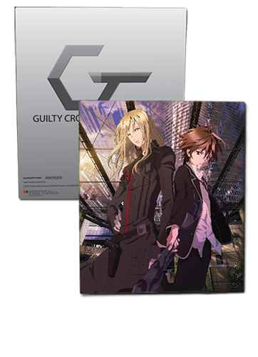 Guilty Crown - Gai & Ouma Binder, an officially licensed product in our Guilty Crown Binders & Folders department.