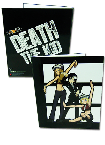 Soul Eater Death The Kid Binder, an officially licensed Soul Eater product at B.A. Toys.