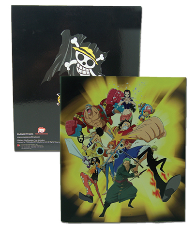 One Piece Straw Hat Pirates Binder, an officially licensed One Piece Binder/ Folder