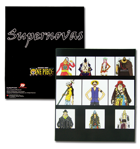 One Piece Supernovas Binder, an officially licensed product in our One Piece Binders & Folders department.