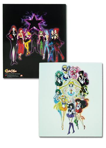 Sailormoon S Group Binder, an officially licensed product in our Sailor Moon Binders & Folders department.