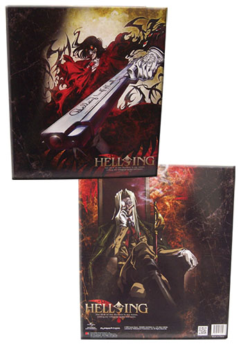 Hellsing Ultimate - Alucard & Integra Binder, an officially licensed product in our Hellsing Binders & Folders department.