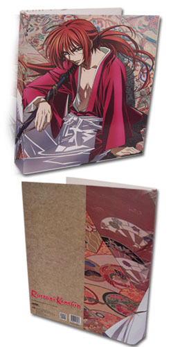 Rurouni Kenshin Ova - Kenshin Binder, an officially licensed product in our Rurouni Kenshin Ova Binders & Folders department.