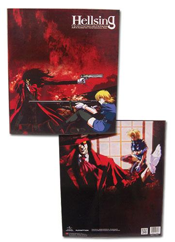 Hellsing - Alucard & Victoria Binder, an officially licensed product in our Hellsing Binders & Folders department.