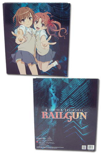 A Certain Scientific Railgun Mikoto & Kurok Binder, an officially licensed product in our A Certain Scientific Railgun Binders & Folders department.