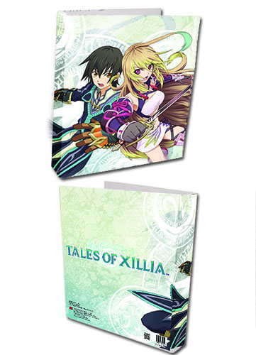 Tales Of Xillia - Jude And Milla Binder, an officially licensed product in our Tales Of Xillia Binders & Folders department.