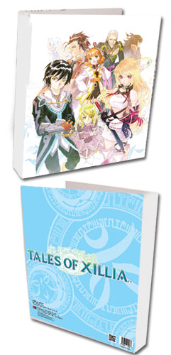Tales Of Xillia - Key Art Binder, an officially licensed product in our Tales Of Xillia Binders & Folders department.