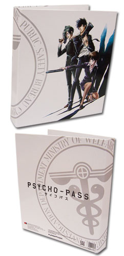 Psycho Pass - Kogami, Akane & Makishima Binder, an officially licensed product in our Psycho-Pass Binders & Folders department.
