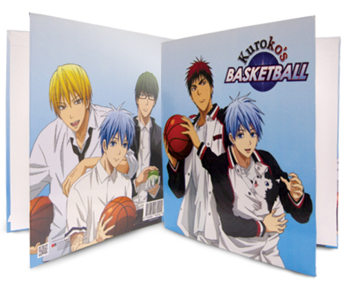 Kuroko's Basketball - Group Binder officially licensed Kuroko'S Basketball Binders & Folders product at B.A. Toys.