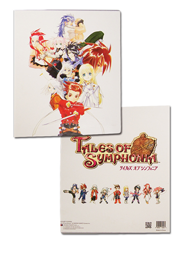 Tales Of Symphonia - Keyart Binder, an officially licensed product in our Tales Of Symphonia Binders & Folders department.