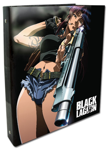 Black Lagoon - Revy Binder Folder officially licensed Black Lagoon Stationery product at B.A. Toys.