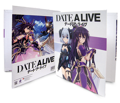 Date A Live - Tohka Vs Tobiichi Binder, an officially licensed product in our Date A Live Binders & Folders department.