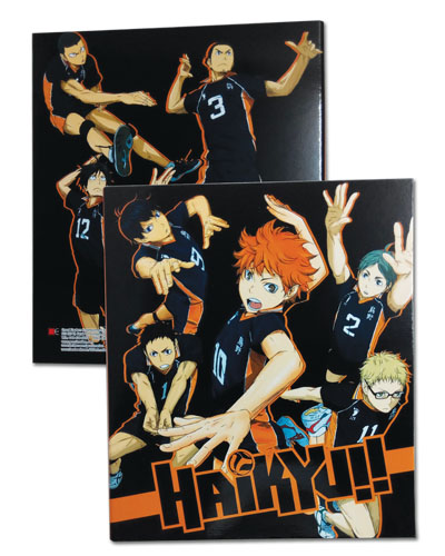 Haikyu!! - Team Binder, an officially licensed product in our Haikyu!! Binders & Folders department.