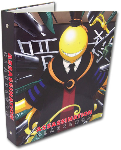 Assassination Classroom - Korosensei Binder, an officially licensed Assassination Classroom product at B.A. Toys.