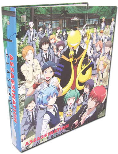 Assassination Classroom - Full Group Binder, an officially licensed Assassination Classroom product at B.A. Toys.