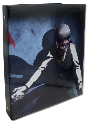 Tokyo Ghoul - Kaneki Kagune Binder, an officially licensed Tokyo Ghoul product at B.A. Toys.