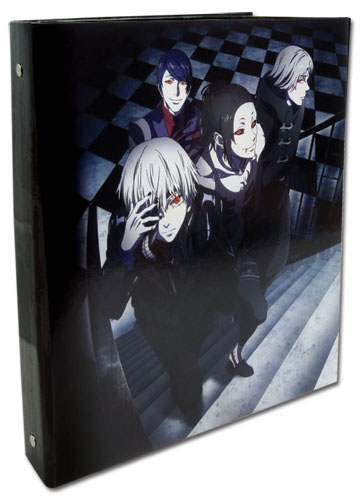 Tokyo Ghoul - Ghoul Group Binder, an officially licensed product in our Tokyo Ghoul Binders & Folders department.