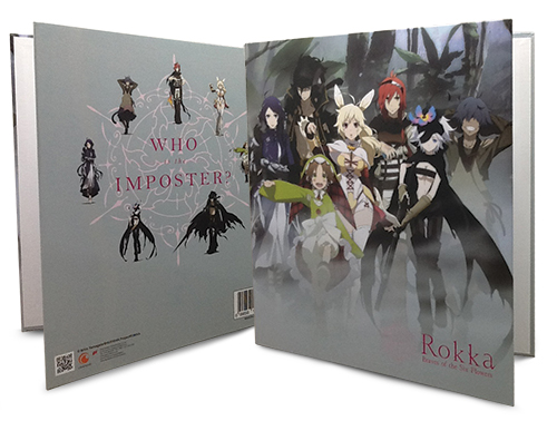 Rokka - Key Art Vertical Binder officially licensed Rokka Binders & Folders product at B.A. Toys.