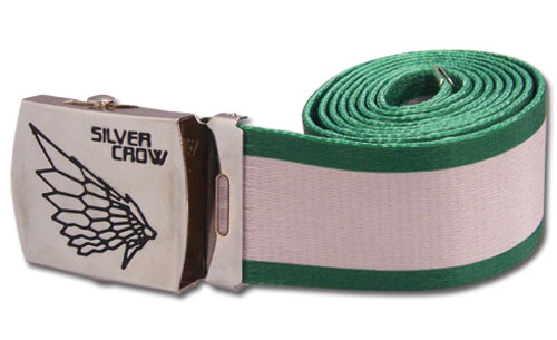Accel World Silver Crow Fabric Belt, an officially licensed Accel World Buckle/ Belt