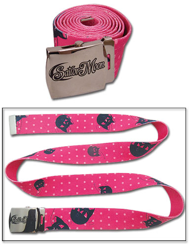 Sailor Moon - Luna Fabric Belt, an officially licensed product in our Sailor Moon Belts & Buckles department.