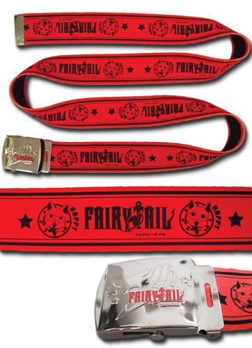 Fairy Tail -- Happy Fabric Belt, an officially licensed product in our Fairy Tail Belts & Buckles department.
