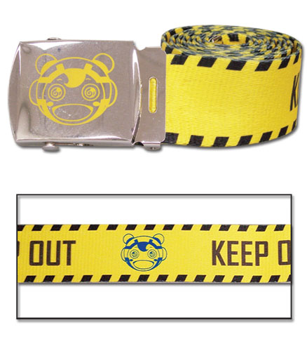 Psycho Pass - Keep Out Fabric Belt, an officially licensed product in our Psycho-Pass Belts & Buckles department.